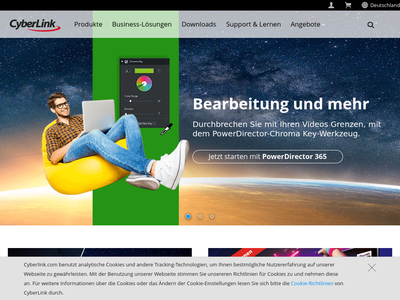 Bildschirmfoto für CyberLink