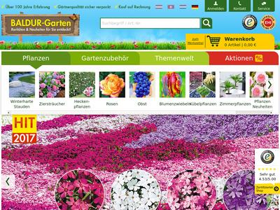 Bildschirmfoto für BALDUR-Garten