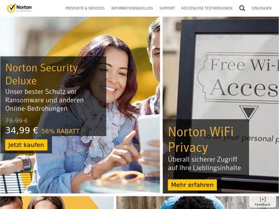 Bildschirmfoto für Norton