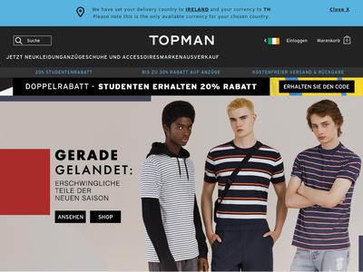 Bildschirmfoto für topman