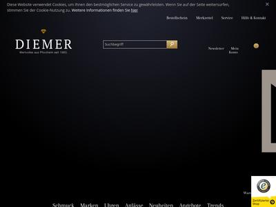 Bildschirmfoto für diemer