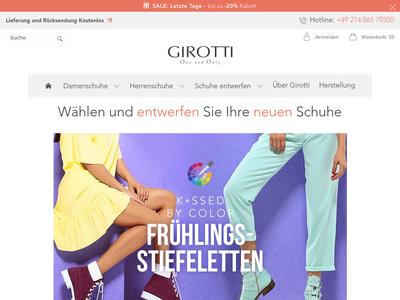 Bildschirmfoto für Girotti