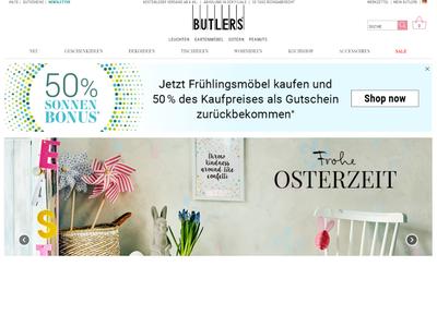 Bildschirmfoto für BUTLERS