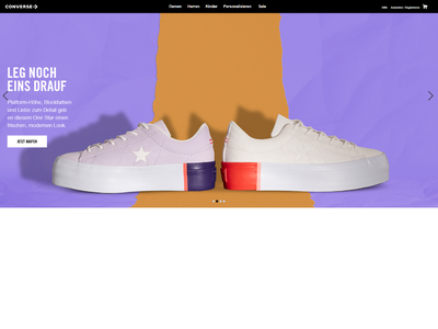 Bildschirmfoto für Converse