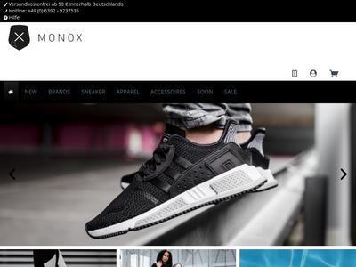Bildschirmfoto für MONOX