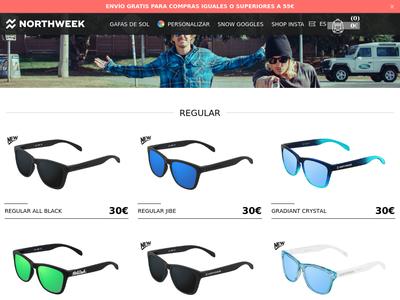Bildschirmfoto für northweek.com