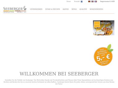 Bildschirmfoto für Seeberger