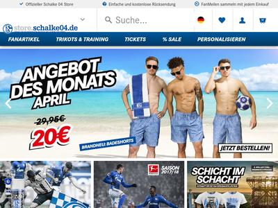 Bildschirmfoto für FC Schalke 04