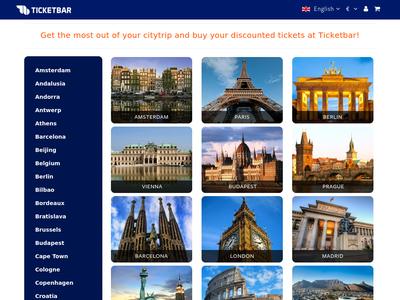 Bildschirmfoto für Ticketbar