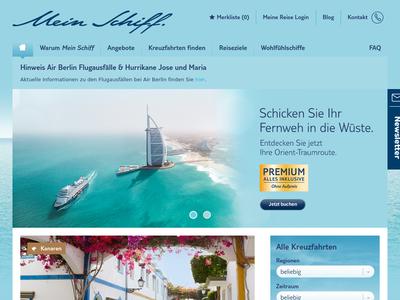 Bildschirmfoto für tui cruises