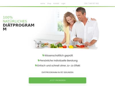 Bildschirmfoto für vitalamin.de