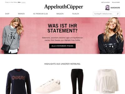 Bildschirmfoto für Appelrath Cüpper
