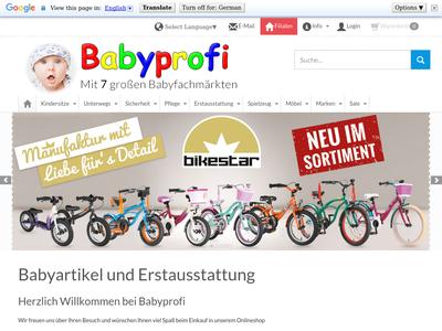 Bildschirmfoto für Babyprofi