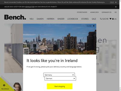 Bildschirmfoto für Bench