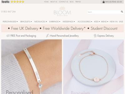 Bildschirmfoto für Bloom Boutique