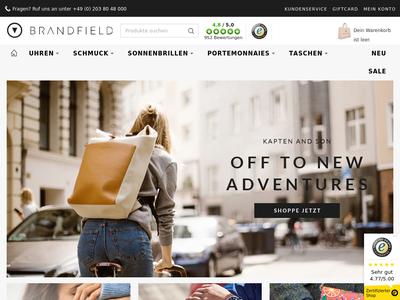 Bildschirmfoto für Brandfield