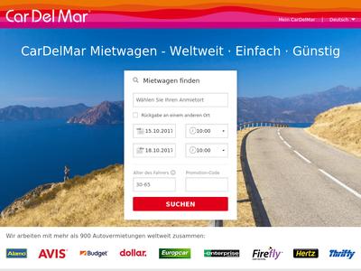 Bildschirmfoto für CarDelMar