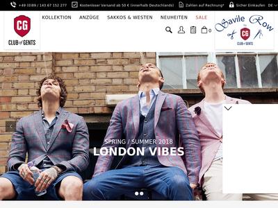 Bildschirmfoto für cg.fashion