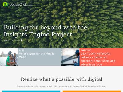 Bildschirmfoto für DoubleClick
