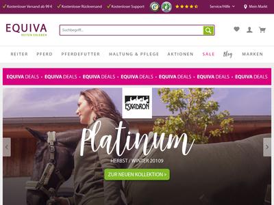 Bildschirmfoto für Equiva