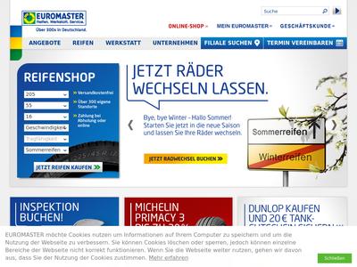 Bildschirmfoto für EUROMASTER