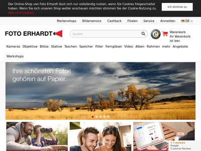 Bildschirmfoto für Foto Erhardt