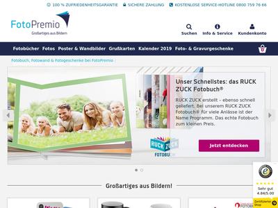 Bildschirmfoto für FotoPremio