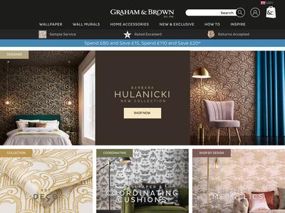 Bildschirmfoto für grahambrown.com
