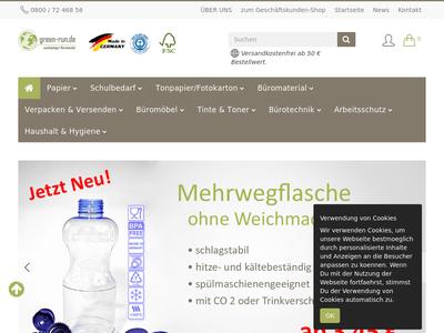 Bildschirmfoto für green-run.de