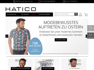 Bildschirmfoto für Hatico