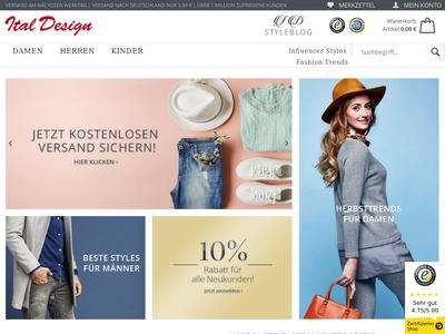 Bildschirmfoto für Ital-Design