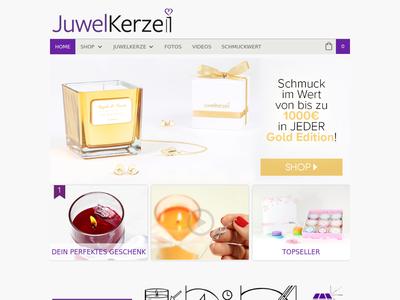 Bildschirmfoto für juwelkerze.de