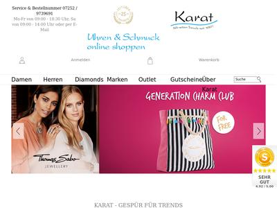 Bildschirmfoto für karat24.net