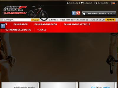 Bildschirmfoto für KCP BIKES