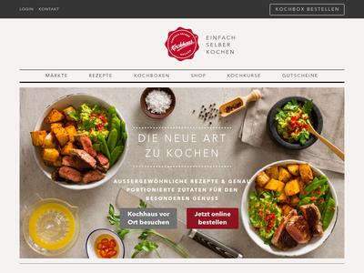 Bildschirmfoto für kochhaus.de