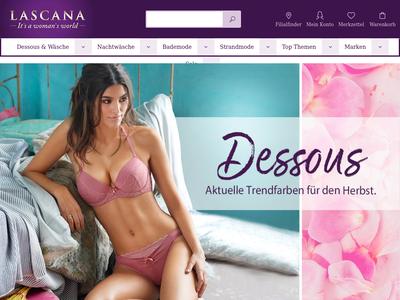 Bildschirmfoto für LASCANA