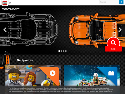 Bildschirmfoto für LEGO Shop