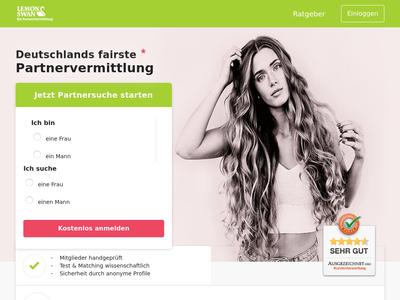 Bildschirmfoto für lemonswan.de
