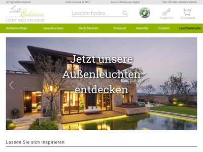 Bildschirmfoto für licht-erlebnisse.de