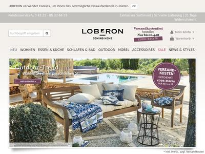 Bildschirmfoto für LOBERON