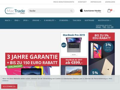 Bildschirmfoto für Mactrade