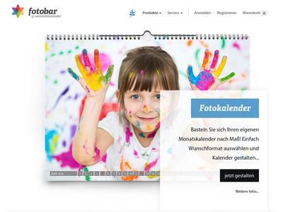 Bildschirmfoto für meinbildkalender.de