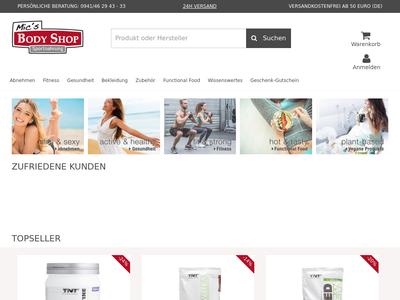 Bildschirmfoto für Mic's Body Shop