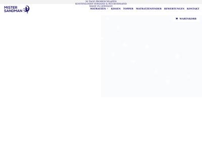 Bildschirmfoto für Mister Sandman