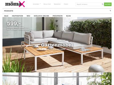 Bildschirmfoto für mömax