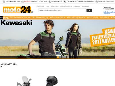 Bildschirmfoto für moto24
