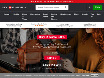 Bildschirmfoto für MyMemory