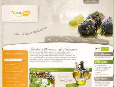 Bildschirmfoto für natur.com