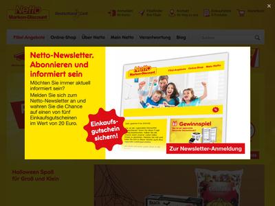 Bildschirmfoto für Netto Marken-Discount