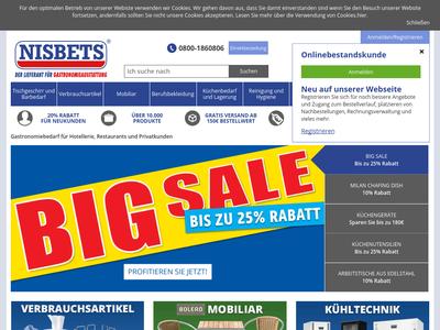 Bildschirmfoto für Nisbets